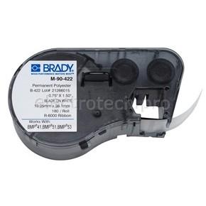 Этикетки Brady M-90-422 / 19,05x38,1мм, B-422