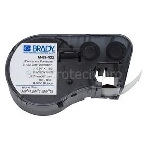 Этикетки Brady M-89-422 / 12,7x38,1мм, B-422