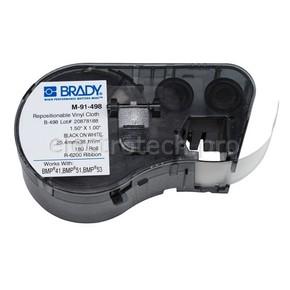 Этикетки Brady M-91-498 / 25,4x38,1мм, B-498