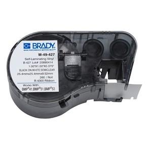 Этикетки Brady M-49-427 / 25,4x25,4мм, B-427
