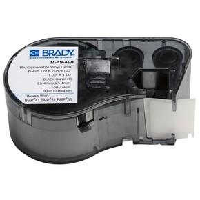 Этикетки Brady M-49-498 / 25,4x25,4мм, B-498