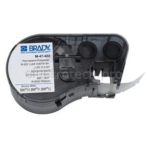 Этикетки Brady M-47-422 / 25,4x12,7мм, B-422
