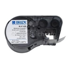 Этикетки Brady M-47-428 / 25,4x12,7мм, B-428