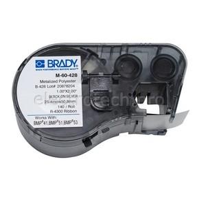 Этикетки Brady M-60-428 / 25,4x55,88мм, B-428