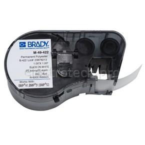 Этикетки Brady M-49-422 / 25,4x25,4мм, B-422