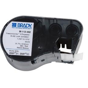 Этикетки Brady M-112-492 / 31,75x9,53мм, B-492