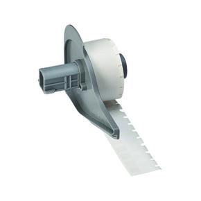 Маркер самоламинирующие Brady m71-10-427 аналог на tls / hm ptl-10-427, 6.35x19.05,6.4x9.5 мм, Поле для надписывания