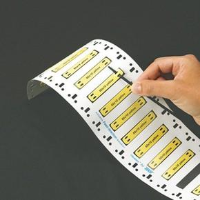 Маркер термоусадочный Brady m71-187-175-7641yl, желтый, 44.83x8.51 мм, 100 шт