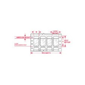Этикетки Brady DAT-186-292-2.5 / 38,1x63,5мм, B-292