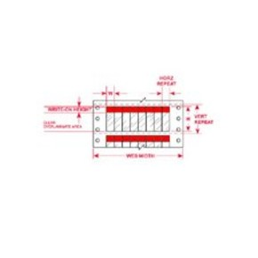 Этикетки Brady DAT-39-292-RD / 25,4x95,25мм, B-292