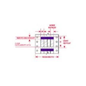 Этикетки Brady DAT-40-292-PL / 50,8x95,25мм, B-292