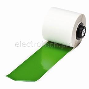 Промышленная лента Brady B-595, винил высокого качества, зеленая, для принтера Handimark, 50 мм * 15 м