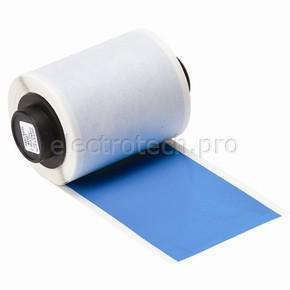Промышленная лента Brady B-595, винил высокого качества, голубая, для принтера Handimark, 50 мм * 15 м