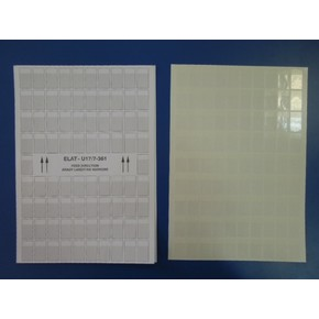 Этикетки самоламинирующиеся Brady самоламинирующаяся этикетка elat-u17 / 7-361,для диаметра 7 мм,на листе а4,10 листов, 17x30 мм, 90 шт