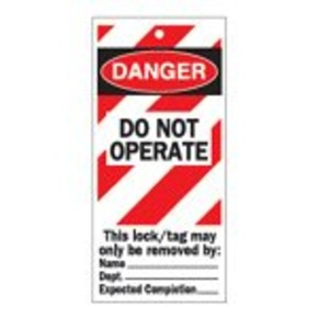 Бирка контрольная awaiting repair Brady контрольные бирки,обозначение качества и прохождения ремонта, Полужесткий, Полиэстер, 10 шт