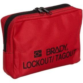 Сумка для блокироторов ременная Brady на пояс, 120x190x50 мм, 1 шт