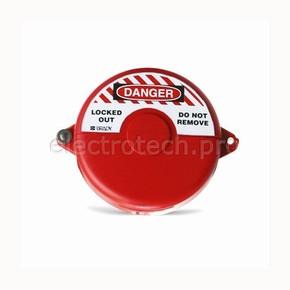 Блокираторы затворных вентилей раздвижной Brady блокиратор, красный, 25 мм