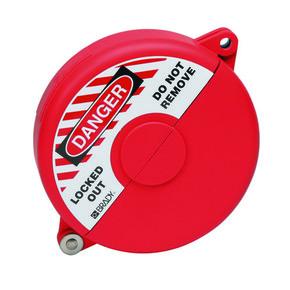 Блокираторы затворных вентилей раздвижной Brady блокиратор, красный, 127 мм