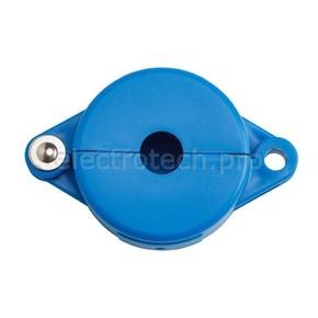 Блокираторы затворных вентилей раздвижной Brady блокиратор, синий, 25 мм
