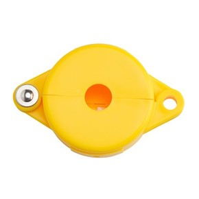Блокираторы затворных вентилей раздвижной Brady блокиратор, желтый, 25 мм