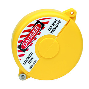 Блокираторы затворных вентилей раздвижной Brady блокиратор, желтый, 64 мм
