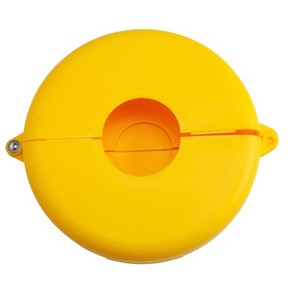 Блокираторы затворных вентилей раздвижной Brady блокиратор, желтый, 165 мм