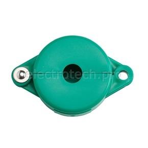 Блокираторы затворных вентилей раздвижной Brady блокиратор, зеленый, 25 мм