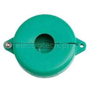 Блокираторы затворных вентилей раздвижной Brady блокиратор, зеленый, 64 мм