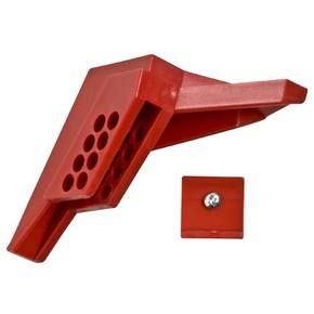 Блокираторы для шарового вентиля Brady блокиратор,диаметр трубопровода 6-25 мм,диаметр дужки замка 7,5 мм,минимальная высота дужки замка 25 мм, Нейлон