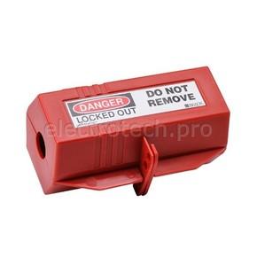 Блокираторы для штепсельных разъемов Brady блокиратор для штепсельных разъемов, 80x80x180 мм