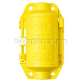 Блокираторы для промышленных штепсельных разъемов малый Brady блокиратор,м, желтый,алый