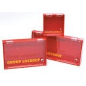 Блокираторы замки микро блокировочная станция Brady без наполнения, желтый, 203x158x70 мм, Пластик, 1 шт