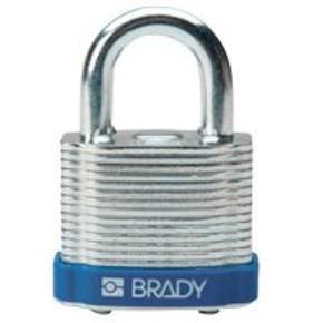 Замки стальные Brady размер корпуса для каждого замка,цвет в упаковке, красный, 38 мм, 7 мм, 26x30x44 м, 1, 6 шт