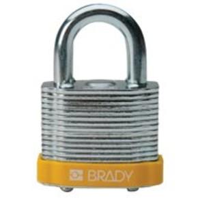 Замки стальные Brady цвет бампера, оранжевый, 7 мм, 38 мм, Устойчив к низкой температуре, 1, 6 шт