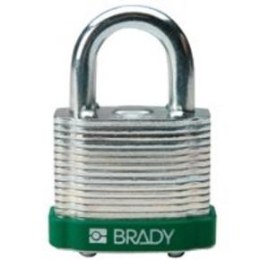 Замки стальные Brady цвет бампера, коричневый, 7 мм, 38 мм, Устойчив к низкой температуре, 1, 6 шт