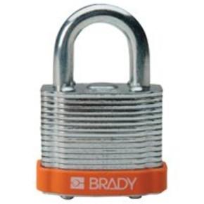 Замки стальные Brady цвет бампера, фиолетовый, 7 мм, 38 мм, Устойчив к низкой температуре, 1, 6 шт
