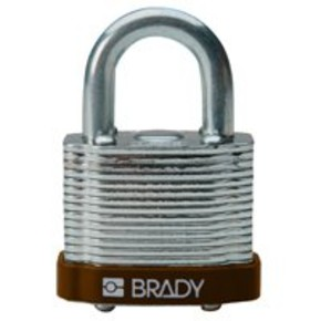 Замки стальные Brady цвет бампера, белый, 7 мм, 38 мм, Устойчив к низкой температуре, 1, 6 шт