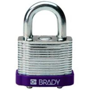 Замки стальные Brady цвет бампера, синий, 7 мм, 51 мм, Устойчив к низкой температуре, 1, 6 шт