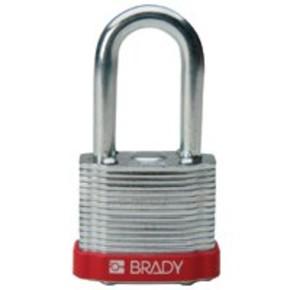 Замки стальные Brady цвет бампера, зеленый, 7 мм, 51 мм, Устойчив к низкой температуре, 1, 6 шт