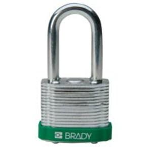 Замки стальные Brady цвет бампера, коричневый, 7 мм, 51 мм, Устойчив к низкой температуре, 1, 6 шт