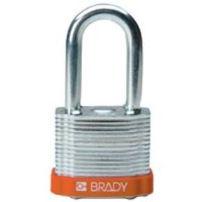 Замки стальные Brady цвет бампера, фиолетовый, 7 мм, 51 мм, Устойчив к низкой температуре, 1, 6 шт
