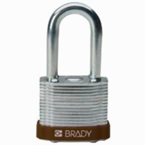 Замки стальные Brady цвет бампера, белый, 7 мм, 51 мм, Устойчив к низкой температуре, 1, 6 шт