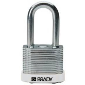 Замки компактные блокирующие Brady дужка, синий, 4,7 мм, 25 мм, Алюминий, Химически инертен, Электроизолированная личина, 1, 6 шт