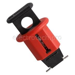 Блокираторы для миниатюрных электроавтоматов для одно- и многофазных автоматов Brady блокиратор для миниатюрных электроавто,pos стандартный выход, матов