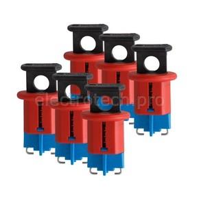 Блокираторы для прерывателей Brady pis-стандартные входы, 6 шт