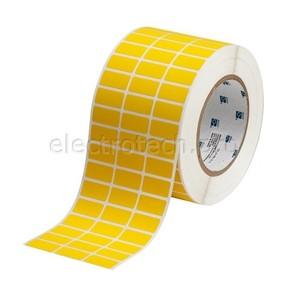 Полиимид высокотемпературный Brady tht-5-472-10-yl, 25.4x12.7 мм, Полиимид, 10000 шт, Рулон