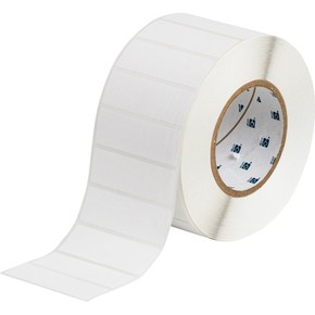 Этикетки Brady THT-18-408-3 / 76,2x25,4мм THT-18-408-3 Синтетическая бумага, B-408, белая матовая, 76,2x25,4мм