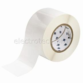 Этикетки Brady THT-19-408-1 / 76,2x55,88мм THT-19-408-1 Синтетическая бумага, B-408, белая матовая, 76,2x50,8мм
