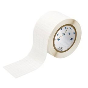 Этикетки Brady THT-14-498-10 виниловая ткань, B-498, белые матовые, 16,51x5,08мм