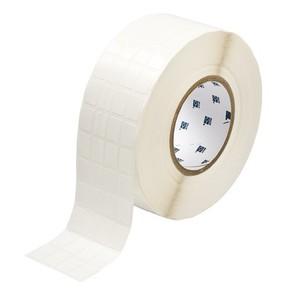 Этикетки Brady THT-68-498-10 виниловая ткань, B-498, белые матовые, 12,7x19,05мм